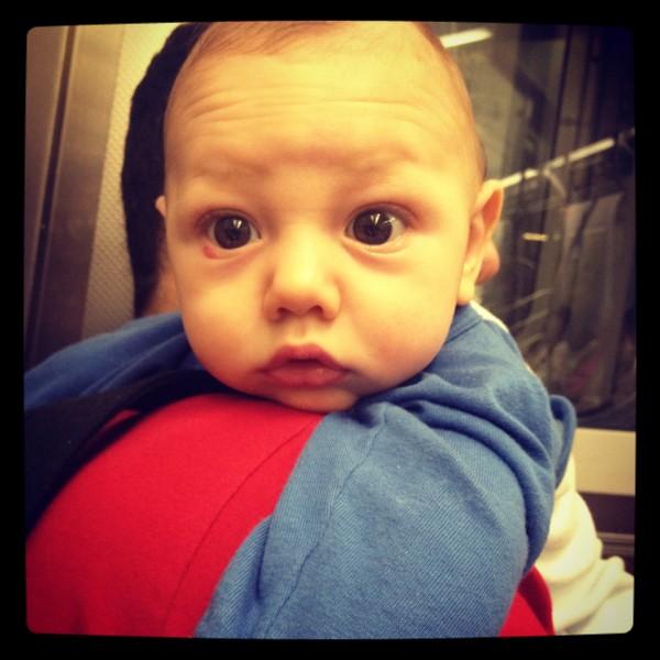 Stellan at 3 months