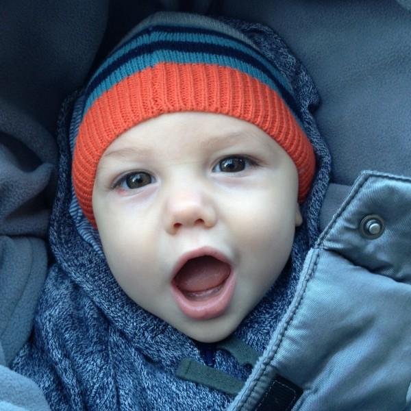 Stellan at 9 months